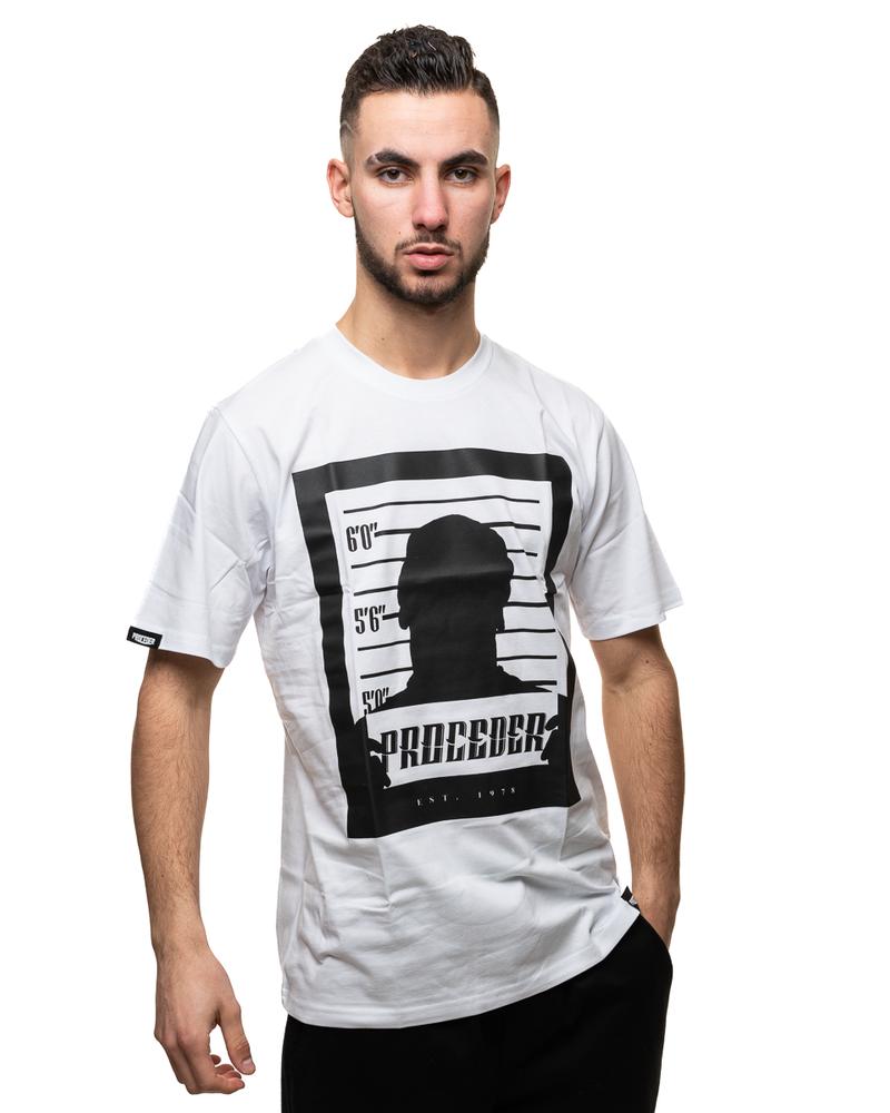 Koszulka Chada Mugshot White