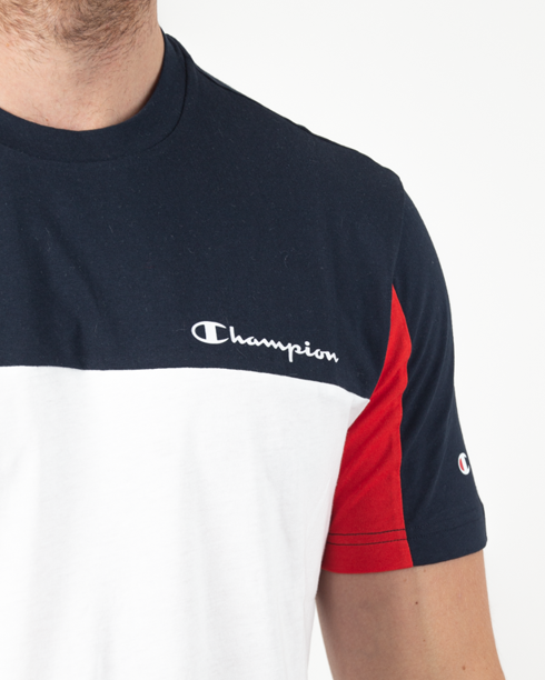 Koszulka Champion 213469 Navy-White