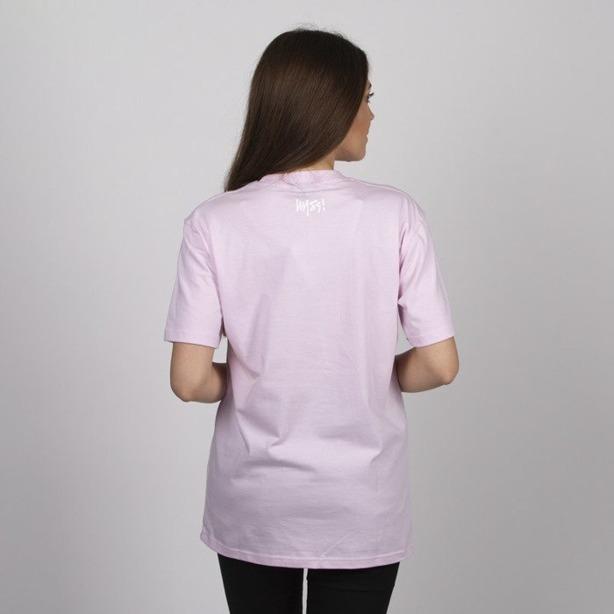 Koszulka Damska Mass Signature Medium Logo Pink