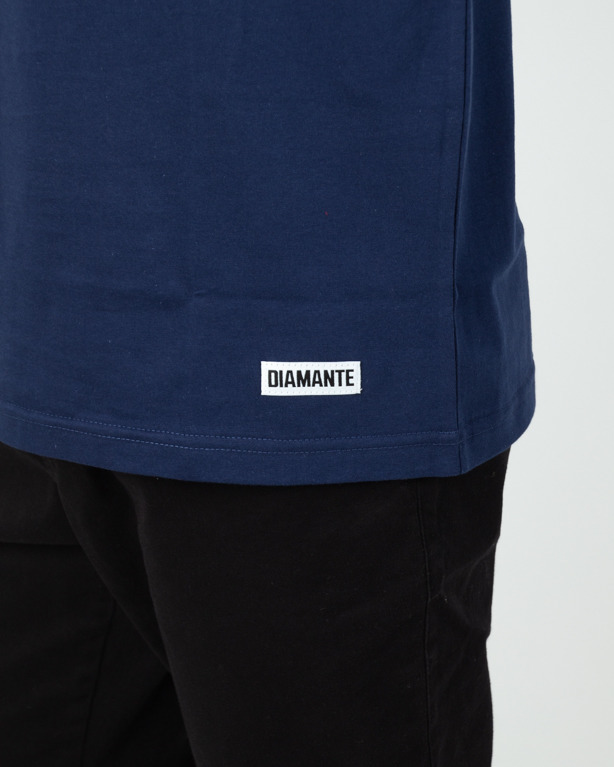 Koszulka Diamante Wear Never Look Back Navy