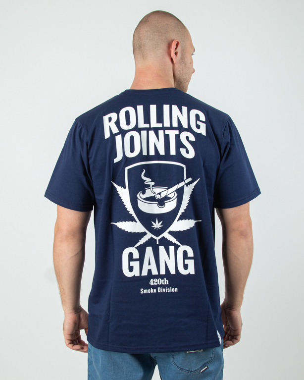 Koszulka Diamante Wear Rolling Joints Navy