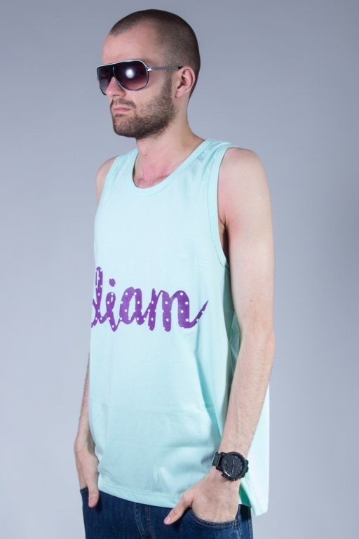 Koszulka Diamante Wear Tank Top Diam Mint