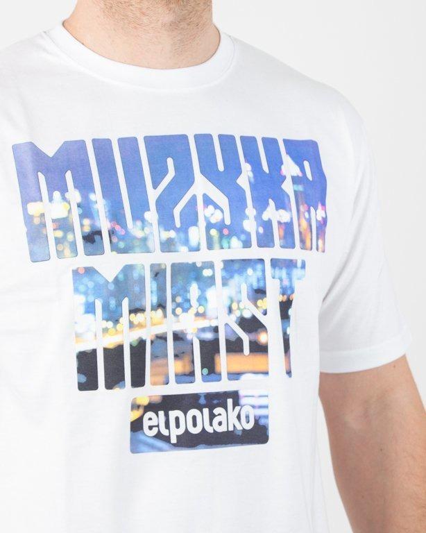 Koszulka El Polako Muzyka Miast White