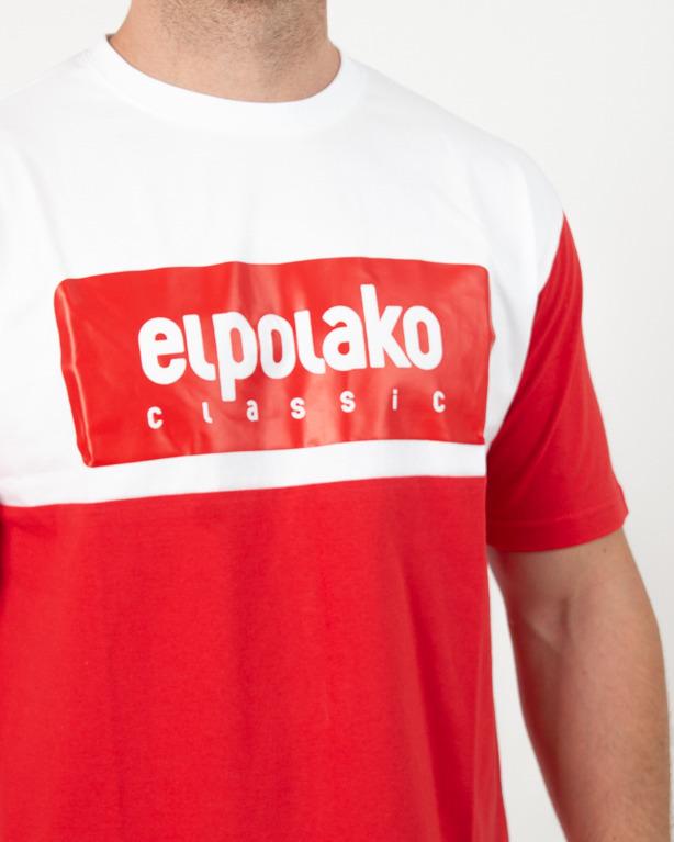 Koszulka El Polako Plate Red