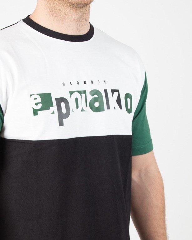 Koszulka El Polako Square Cut Black-Green