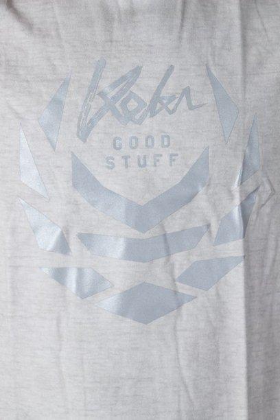 Koszulka Koka Laurel Logo Prew Light Grey