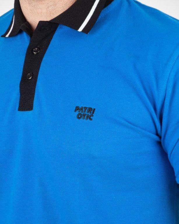 Koszulka Koszulka Patriotic Polo Cls Blue