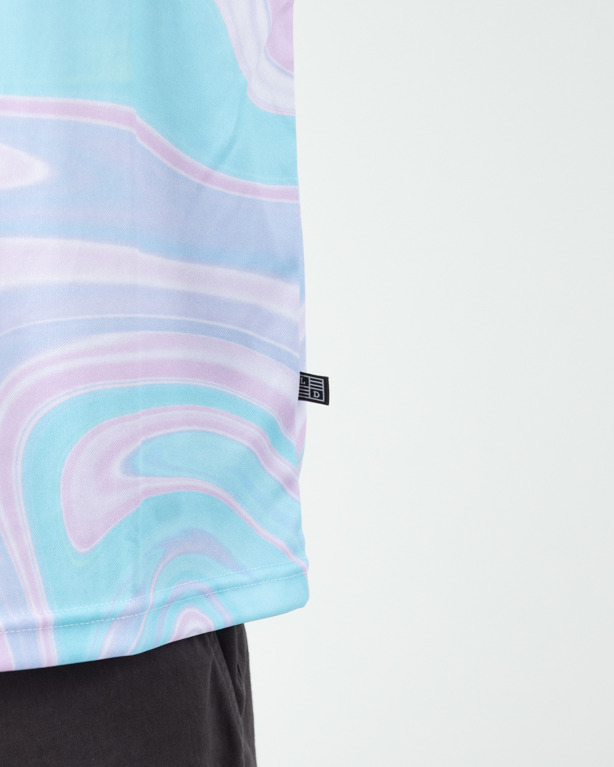 Koszulka Lucky Dice Sb Crvd Lines Blue-Violet
