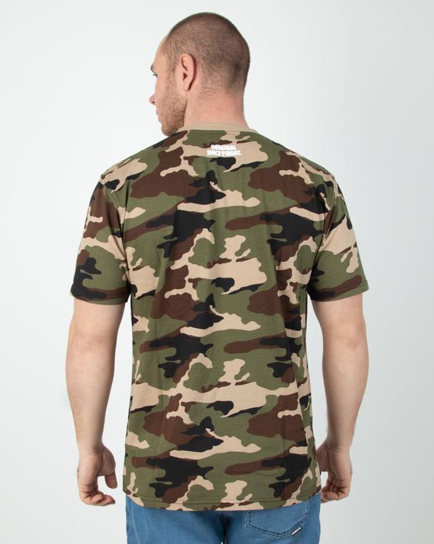 Koszulka Mass Base Camo