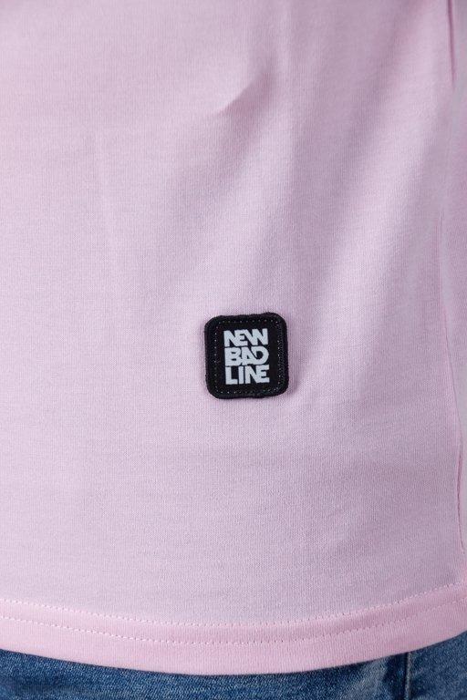 Koszulka New Bad Line Palm Pink