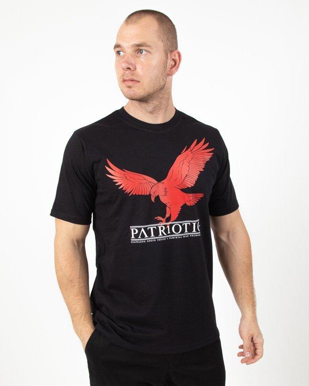 Koszulka Patriotic Red Eagle Black