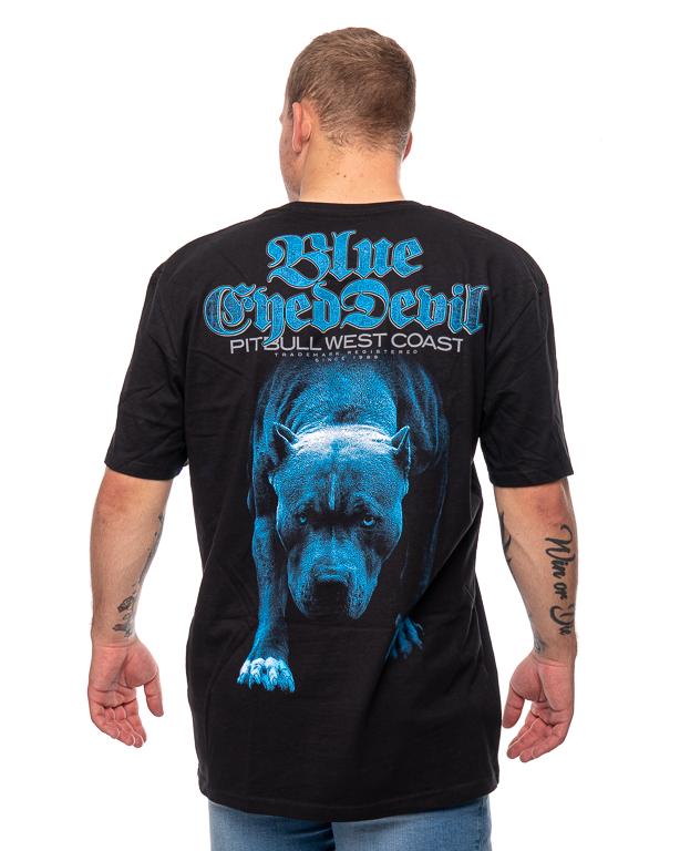 Koszulka Pit Bull Blue Eyed Devil Czarna