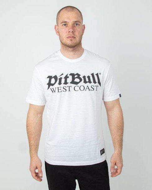 Koszulka Pitbull Old Logo White