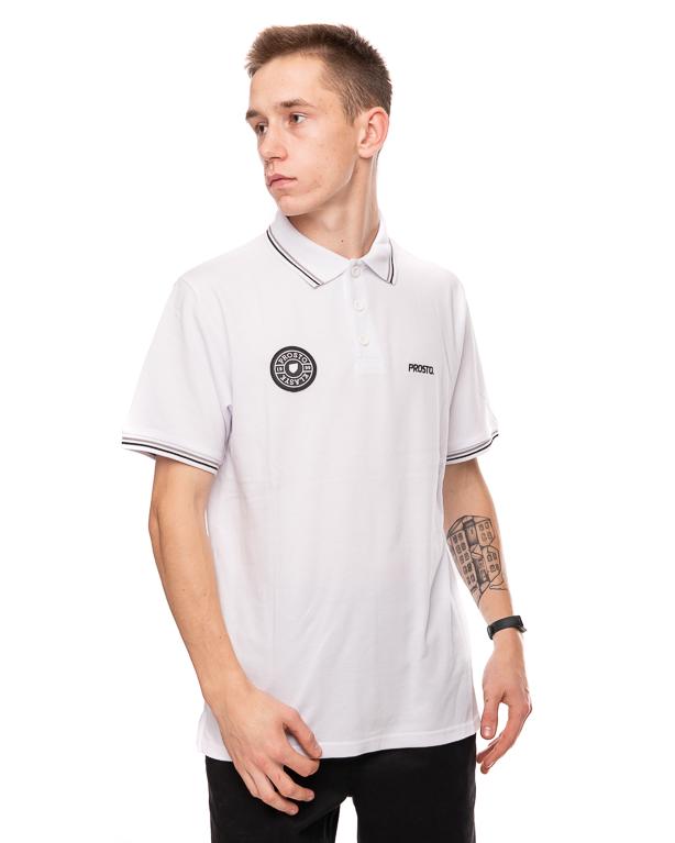 Koszulka Polo Prosto Clubz White