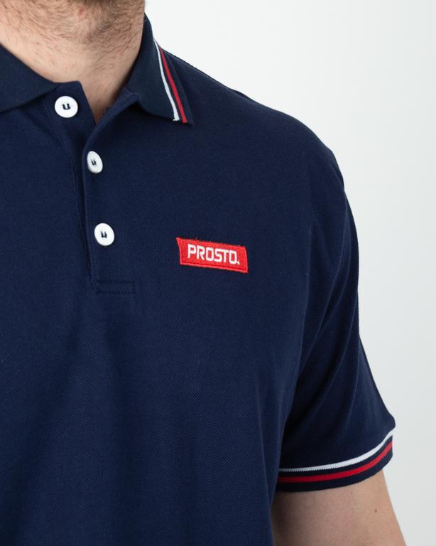 Koszulka Polo Prosto Geeza Navy