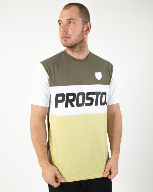 Koszulka Prosto Reyal Olive-Light Green