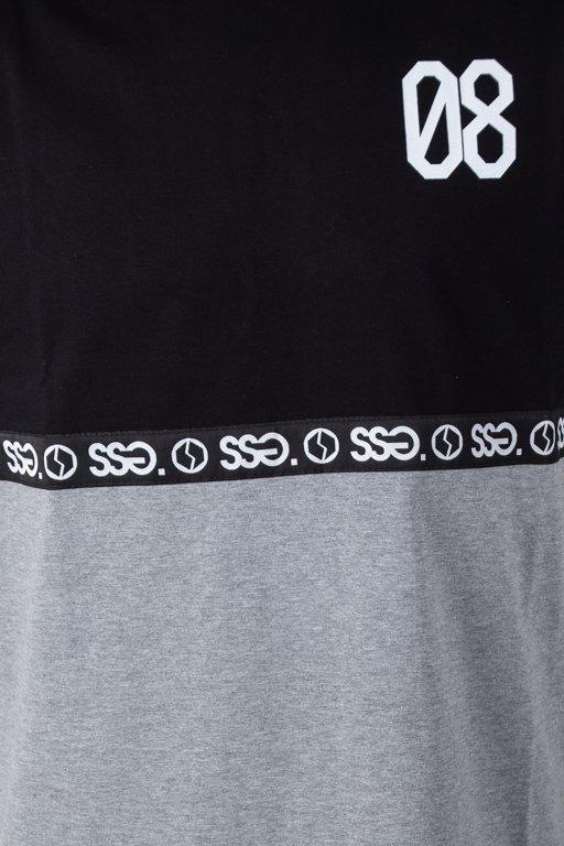 Koszulka SSG 08 Line Black-Grey