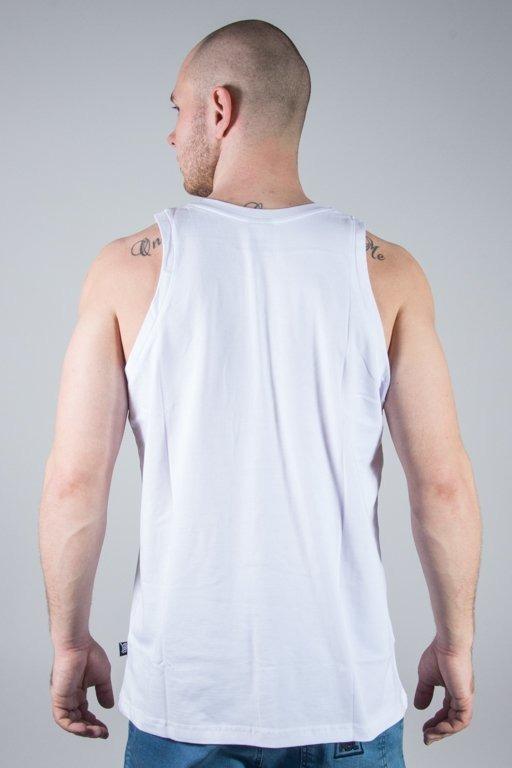 Koszulka SSG Tank Top Small Smoke Tag White
