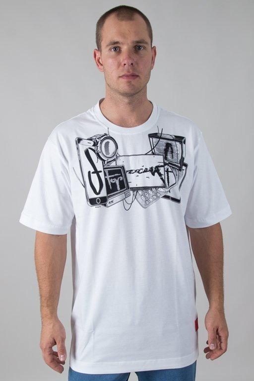 Koszulka Stoprocent Devicetag White