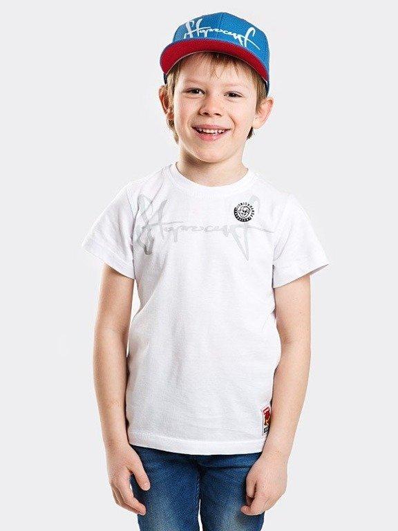 Koszulka Stoprocent Kid Tag18 White