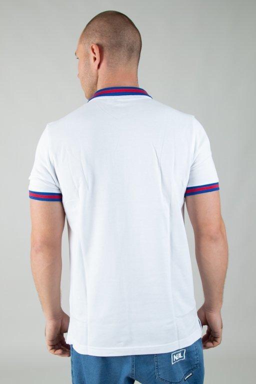 Koszulka Stoprocent Polo Kadra White