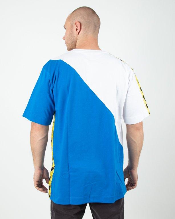 Koszulka Stoprocent Toxicated White-Blue