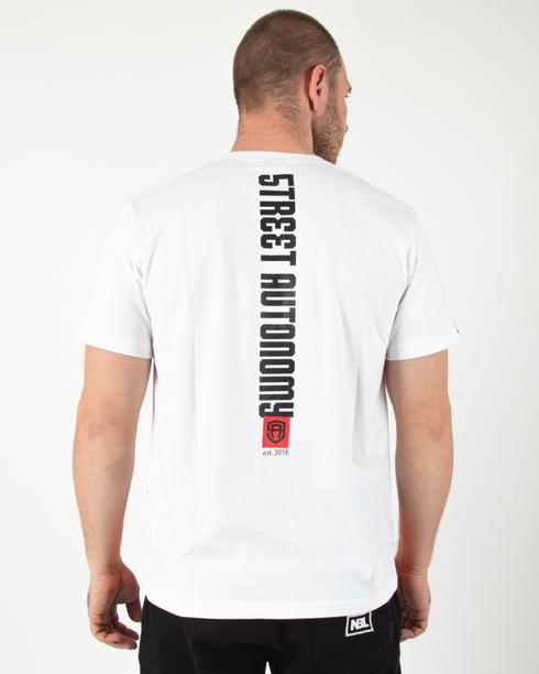 Koszulka Street Autonomy Bagz White