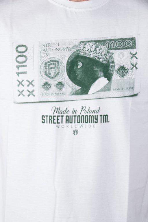 Koszulka Street Autonomy Bloodymoney White