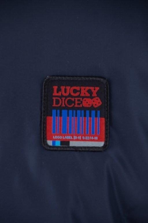 Kurtka Lucky Dice Wiatrówka Bomber Ld Colour Navy-Grey