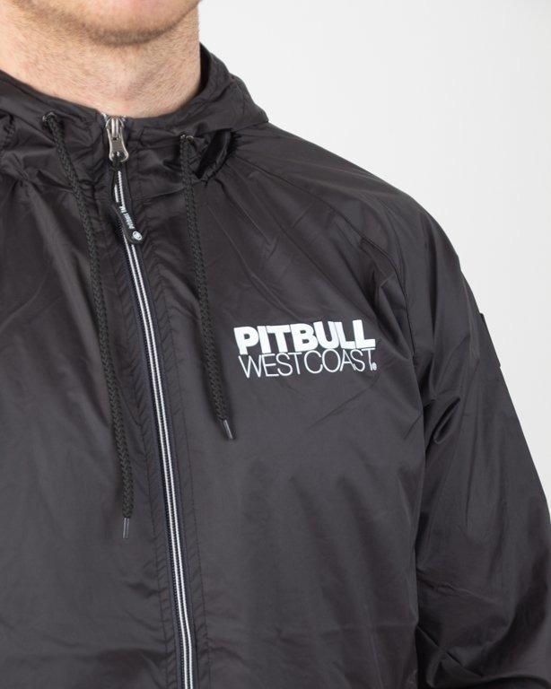 Kurtka Pitbull Wiatrówka Zip Athletic Ix Black