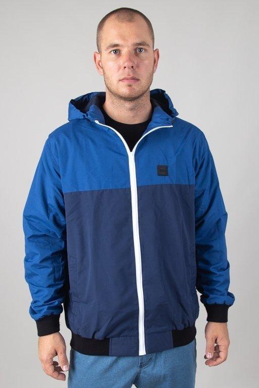 Kurtka SSG Wiatrówka Zip Half Colors Blue-Navy