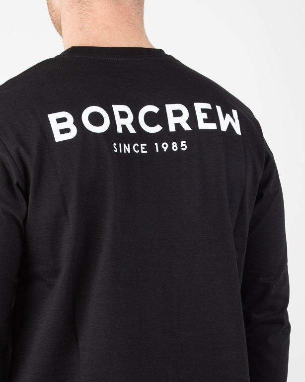Longsleeve Bor Classic Borcrew Black