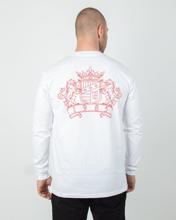 Longsleeve Bor New Herb White