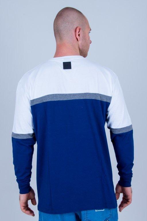 Longsleeve El Polako Colors Cut Navy-White