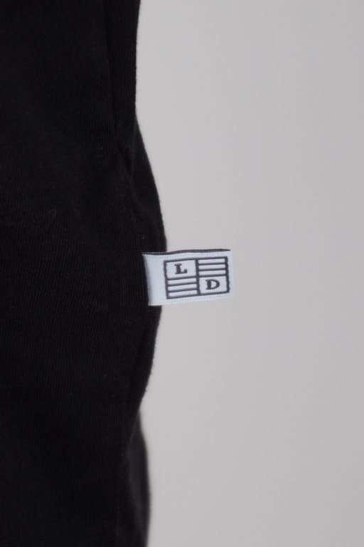 Longsleeve Lucky Dice Logo Raglan Tape Black