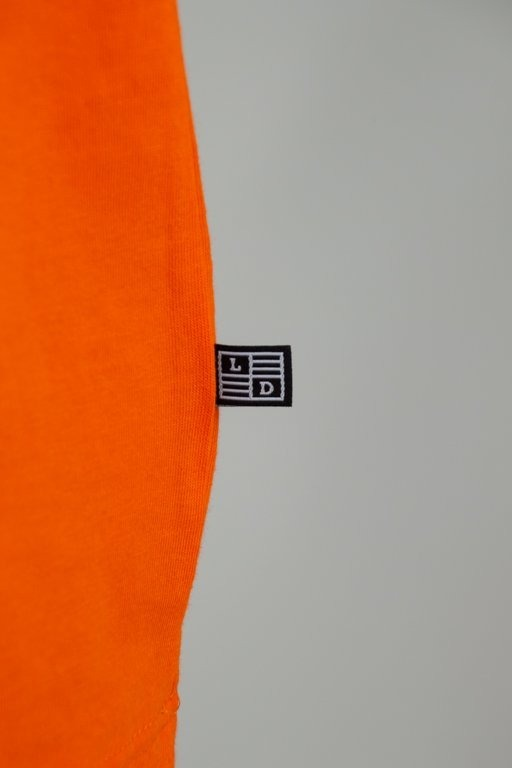 Longsleeve Lucky Dice Raglan Tape Orange