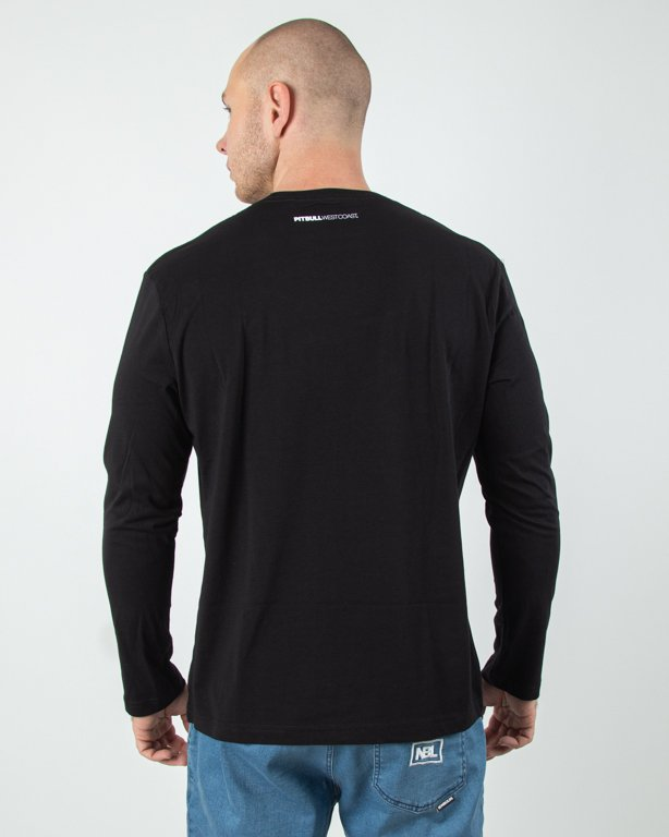 Longsleeve Pitbull Small Logo Black