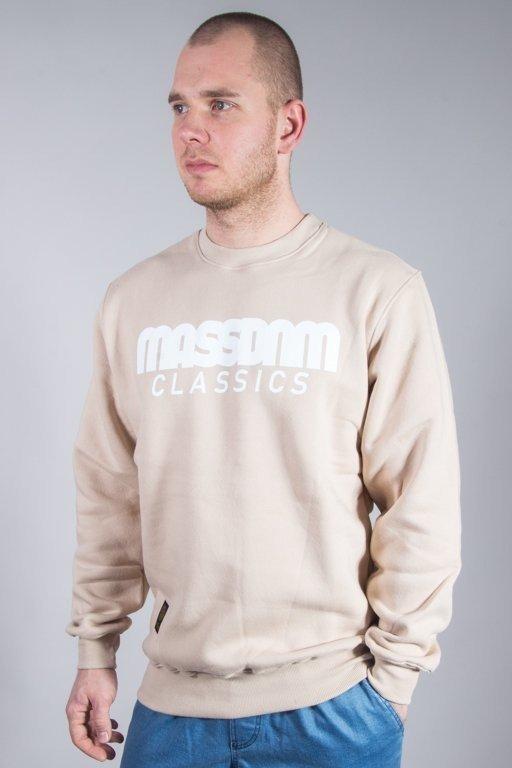 MASS CREWNECK CLASSIC BEIGE