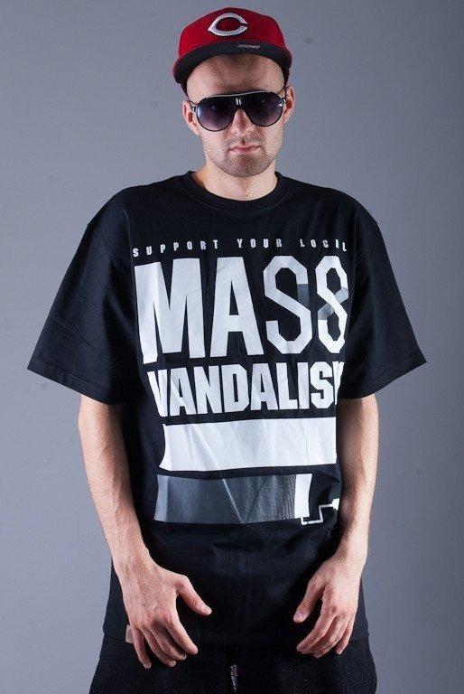 MASS KOSZULKA VANDALISM BLACK