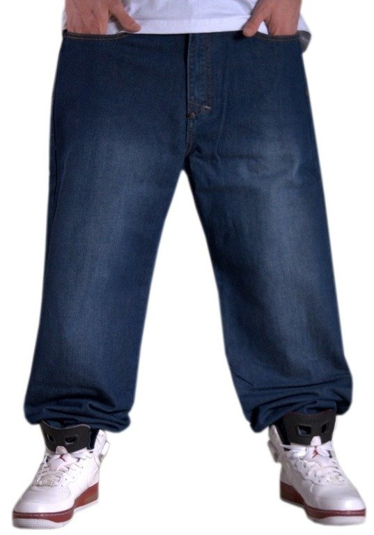 MASS SPODNIE JEANS MAMOOTH DARK BLUE