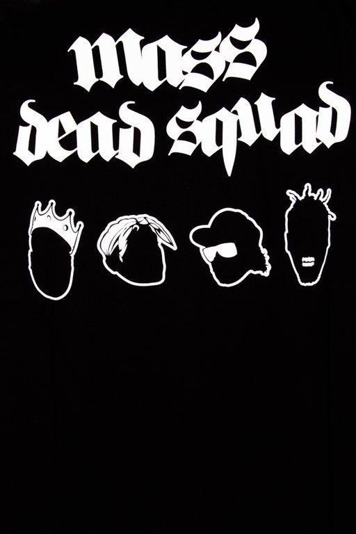 MASS T-SHIRT DEAD SQUAD BLACK