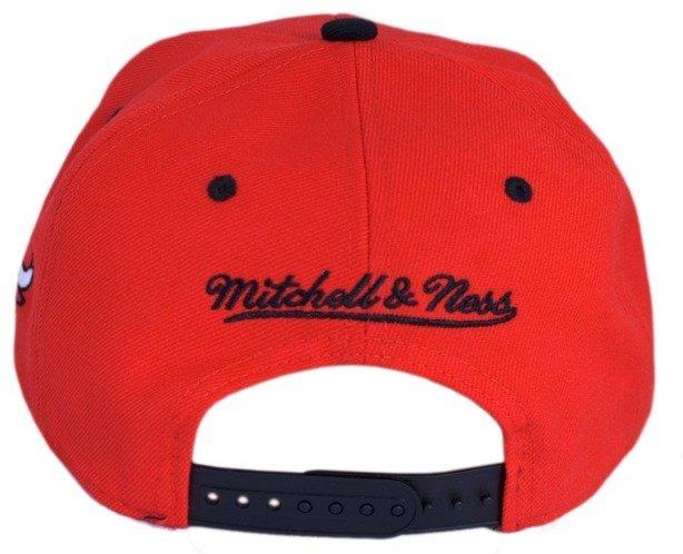 MITCHELL & NESS CZAPKA SNAPBACK CHICAGO BULLS RED