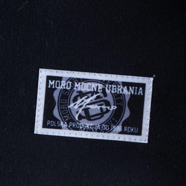 MORO BLUZA BEZ KAPTURA ACADEMIC BLACK