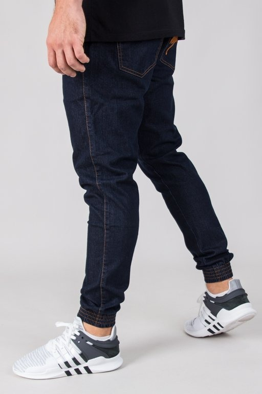 MORO PANTS JEANS JOGGER GYM PARIS18 DARK