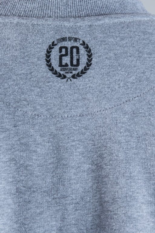 MORO SPORT CREWNECK CLEAN GREY