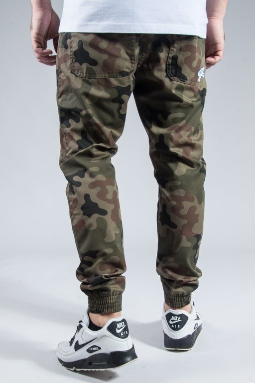 MORO SPORT PANTS CHINO JOGGER MINI PARIS CAMO