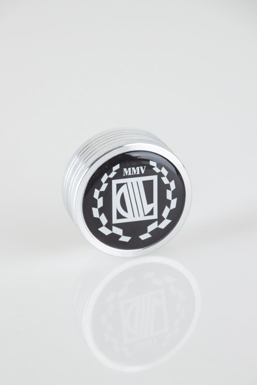Młynek Diil Metalowy Plain Laur Silver Black
