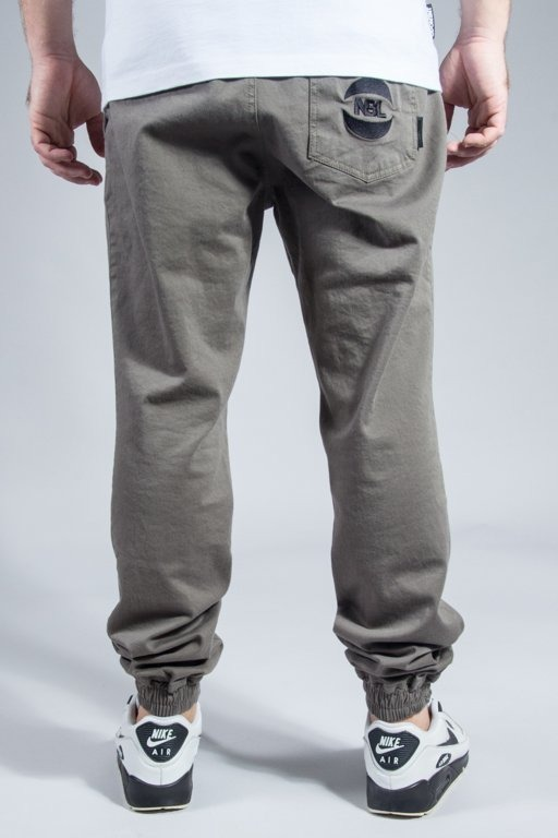 NEW BAD LINE PANTS CHINO JOGGER BASKET OLIVE