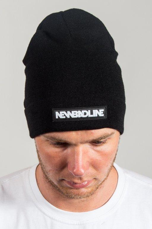 NEW BAD LINE WINTER CAP LOGO BLACK
