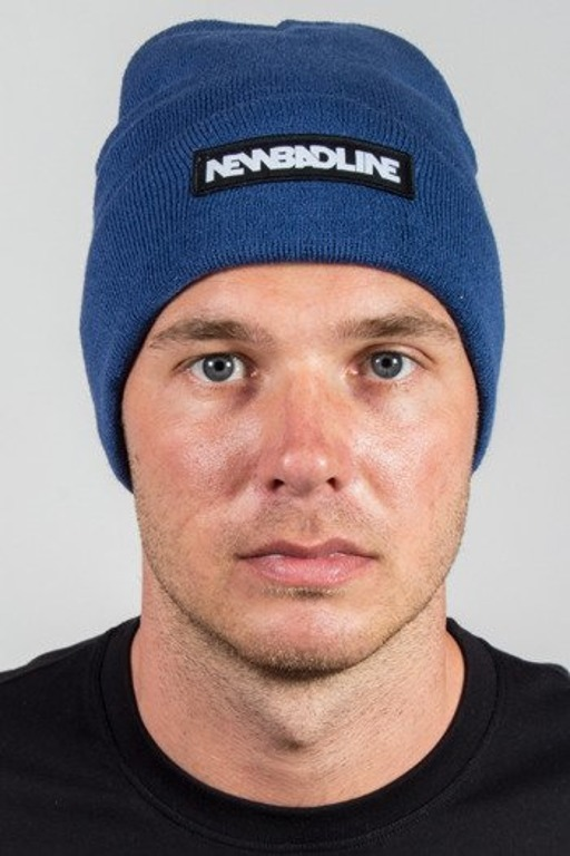 NEW BAD LINE WINTER CAP LOGO BLUE